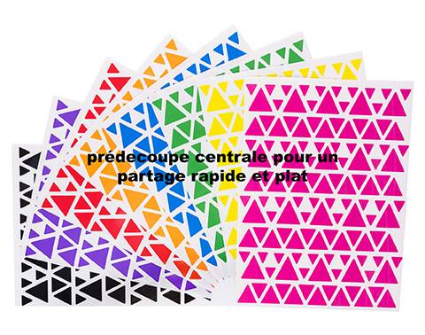 25 2304 triangle 8 couleurs