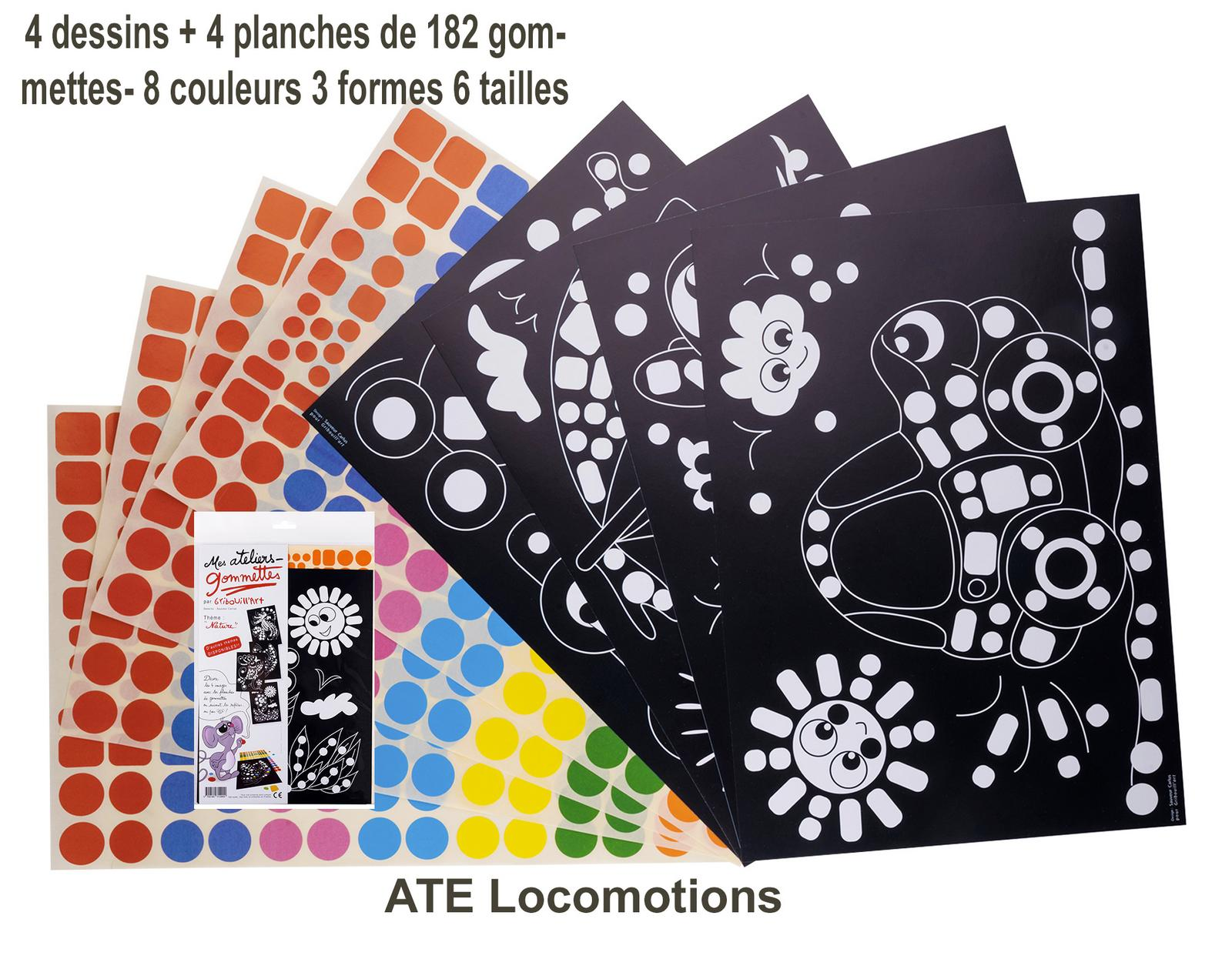 82 -ATE Locomotions